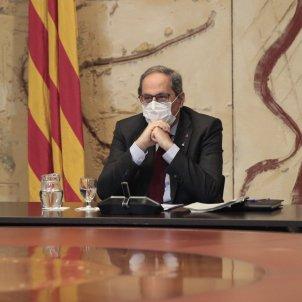 President Quim Torra reunio govern inhabilitacio - Sergi Alcàzar