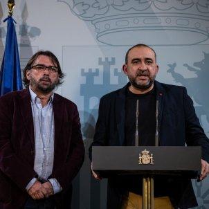 EuropaPress 2636567 declaraciones secretarios generales ccoo catalunya javier pacheco ugt
