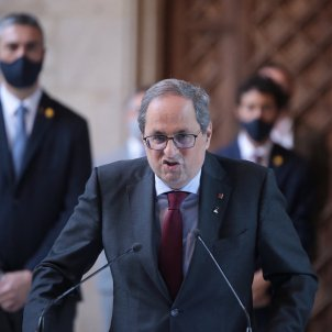 Declaracio institucional Quim Torra inhabilitació - Sergi Alcàzar