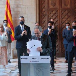 Declaracio institucional inhabilitacio president Quim Torra - Sergi Alcàzar