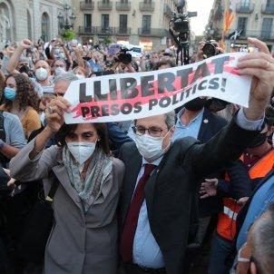 Inhabilitacio Sortida Torra Generalitat gentada - Sergi Alcàzar