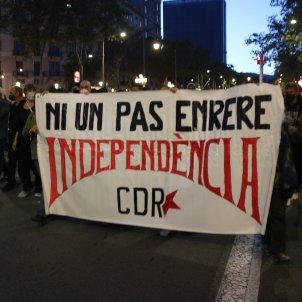 Manifestacio CDr Barcleona inhabilitacio Torra - ACN