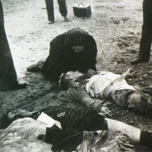 La Societat de Nacions condemna els bombardeigs franquistes sobre Catalunya. Bombardeig sobre Lleida (02 11 1937). Font Arxiu Nacional de Catalunya