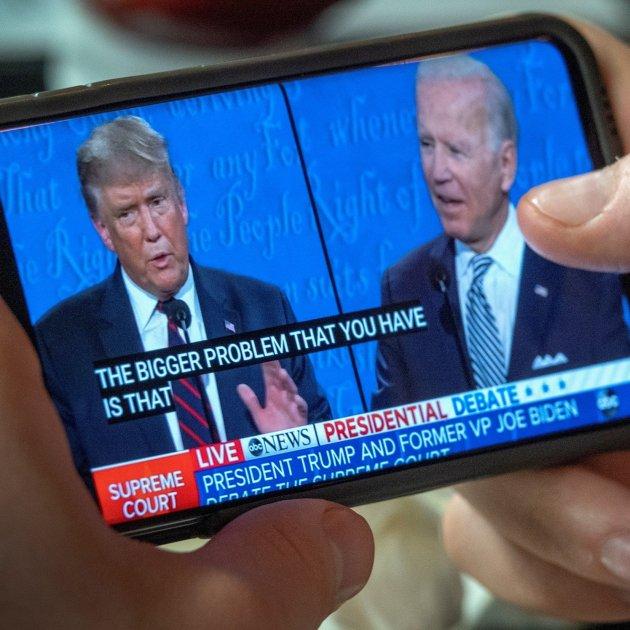 Biden gana a Trump en un agrio primer debate electoral en los EEUU
