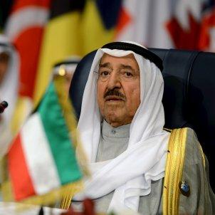 Emir Kuwait Sabah Al Ahmad Al Jaber Al Sabah efe