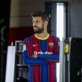 Gerard Pique enfadat Barca FC Barcelona