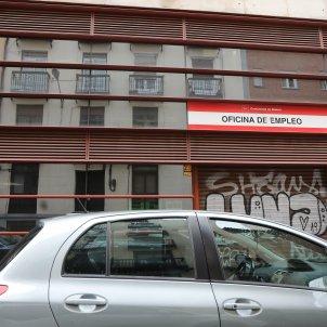 Una oficina d'ocupació situada a Ronda de les Províncies número 7 de la capital. Foto: Europa Press