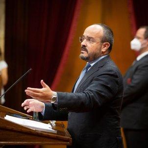 Ple inhabilitacio Torra Alejandro Fernandez PP - David Zorrakino Europa Press