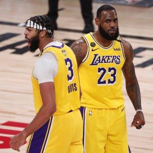 Anthony Davis LeBron James Lakers EFE