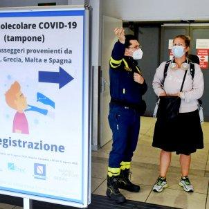 aeroport coronavirus itàlia efe