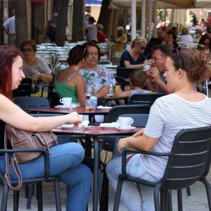 Un bar a Castelldefels, Catalunya. Foto: ACN