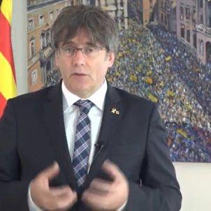 Puigdemont missatge institucional 1 O 2