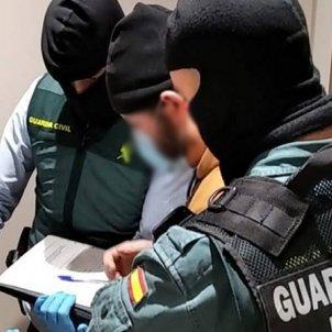 Detencion Daesh / Guardia Civil