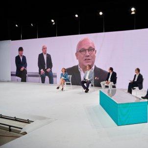 Puigdemont Fundació Junts Pantalla ACN
