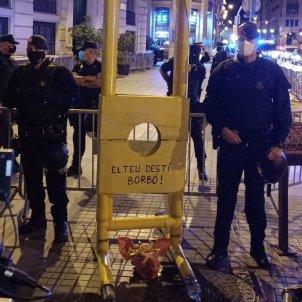 CDR guillotina prefectura policia via laietana