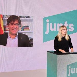 Puigdemont Artadi congrés jxcat / JxCAt