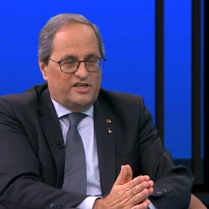 Torra entrevista TV3 Sanchís