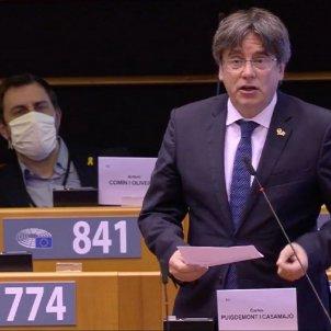 puigdemont comin parlament europeu