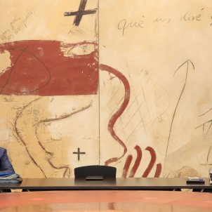 Consell executiu cadira buida Jordi Bedmar