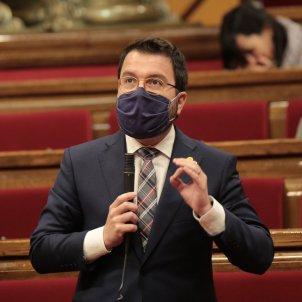 Pere Aragonès ple Parlament - Sergi Alcázar