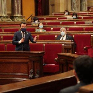 Pere Aragonès al Parlament esco - Sergi Alcázar