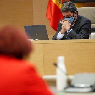 El ministre de Treball, Inclusió, Seguretat Social i Migracions, José Luis Escrivá compareix a la Comissió de Treball. Foto: Efe