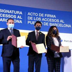 Acord Port Barcelona / ACN