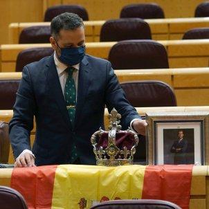 senador del PP per Ceuta David Muñoz - efe