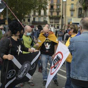 Protesta visita Rei 9 octubre - Maria Contreras Coll
