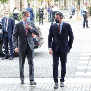 Rei Felip VI Pedro Sanchez BNEW - Sergi Alcàzar