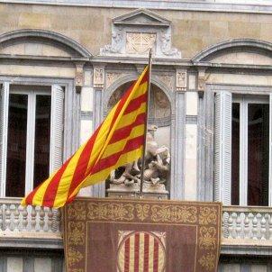 Generalitat de Catalunya balcó bandera