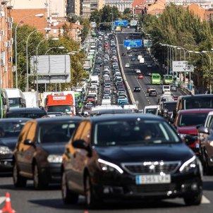 Restriccions congestió movilitat estat alarma madrid control policial transit - Efe