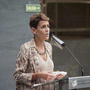 Navarra confinada María Chivite europa press