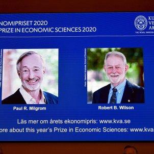 Nobels Economia 2020 EFE