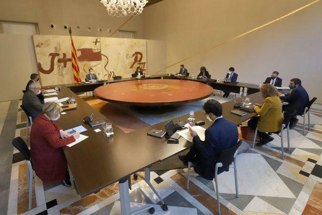 reunió consell executiu 13/X/2020 / Ruben Moreno
