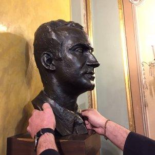 Imatge del bust de Joan Carles I salo sessions Lleida - ACN