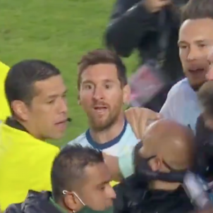 Messi cabreig Argentina Bolivia @capturatycsports