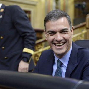 Pedro Sánchez riu GTRES