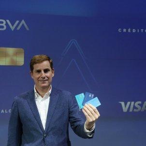 Pla obert del director de desenvolupament de negoci de BBVA a Espanya, Gonzalo Rodríguez. Foto: ACN