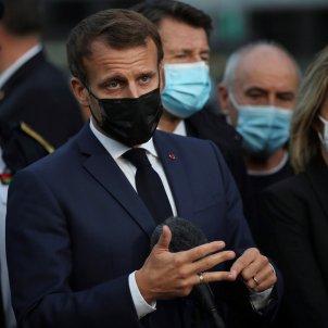 Emmanuel Macron toc de queda Paris coronavirus - Efe
