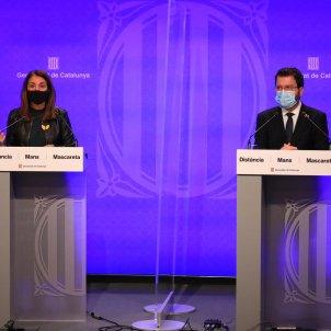 budó aragonès roda premsa covid mascareta   Jordi Bedmar (Govern)