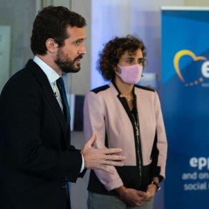 Pablo Casado Dolors Montserrat PP UE - Twittr@DolorsMM