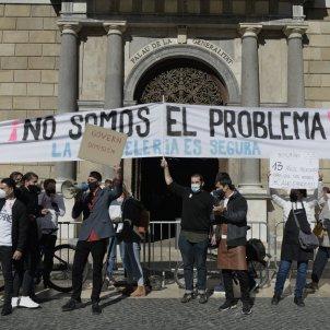 Maria Contreras Coll - manifestacio hosataleria sant jaume