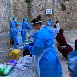 cribratge escola Tortosa coronavirus ACN