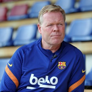 Ronald Koeman Barca Europa Press