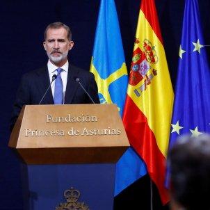 rei felip vi premis princesa asturias - Efe POOL