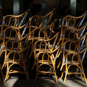 cadires recollides tancament bars coronavirus efe