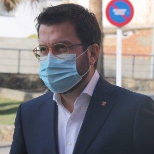 Pere Aragonès mascareta hospital palamós - ACN