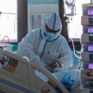 UCI coronavirus espanya hospital - Efe