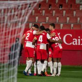 Girona celebració gol Foto Girona FC